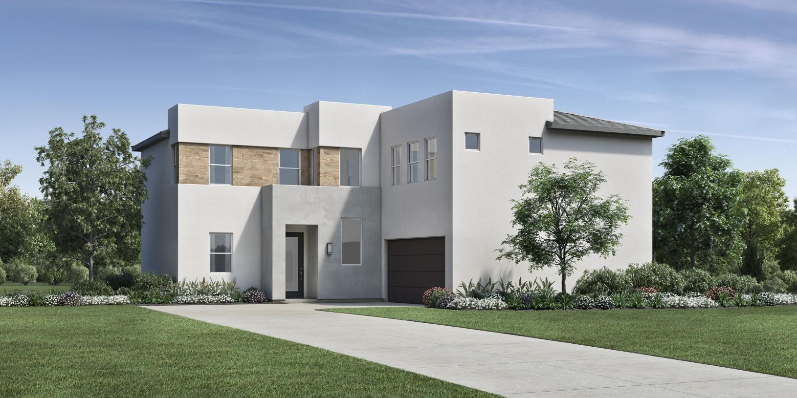 Elevation Image:California Modern