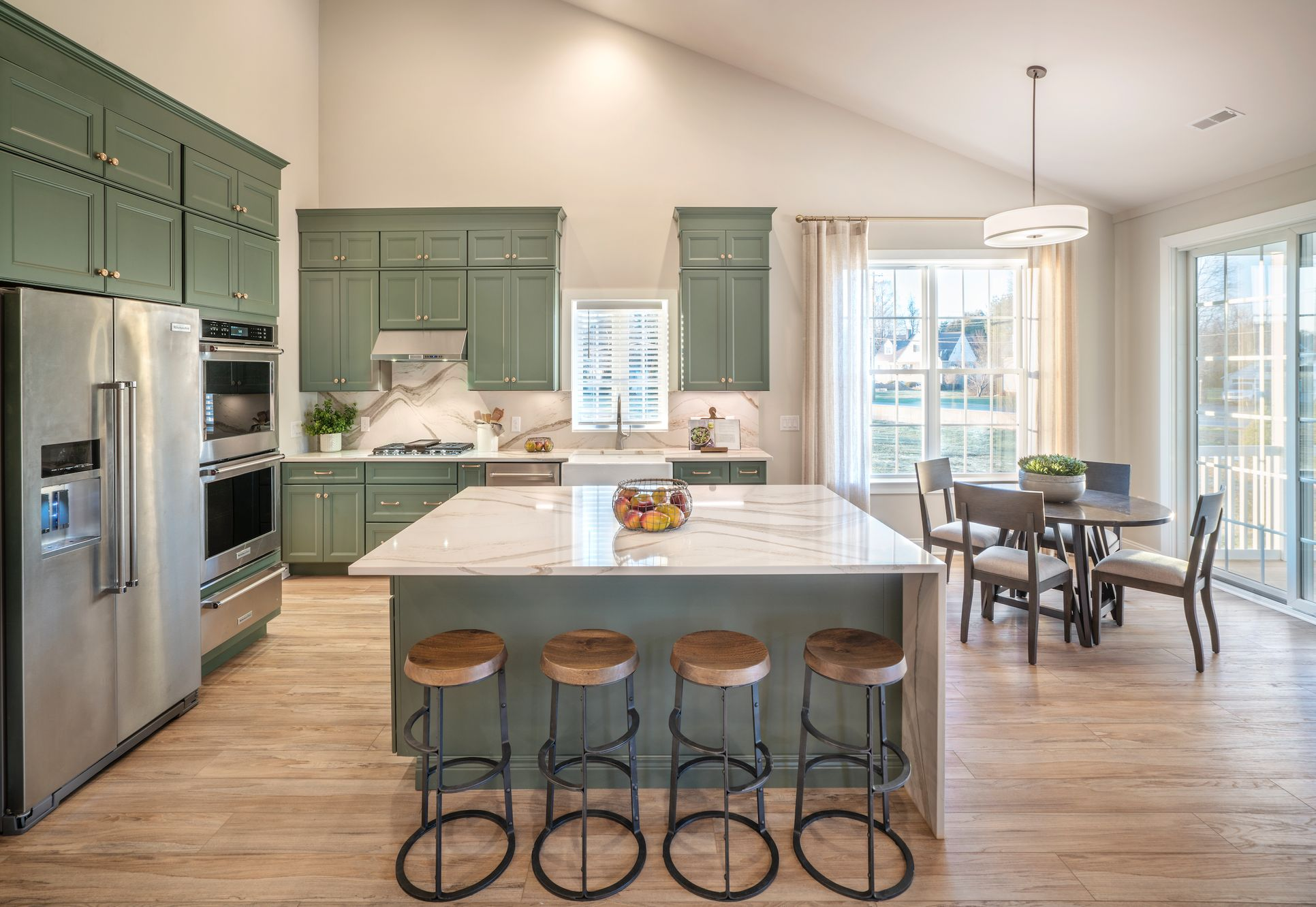 Green Pond Designer Model Home:Amazing Kitchen in The Hancock Model