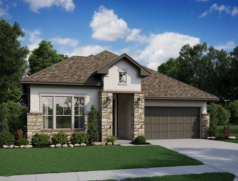 585F C Elev Web:Highlands at Mayfield Ranch | Foss, Elevation C