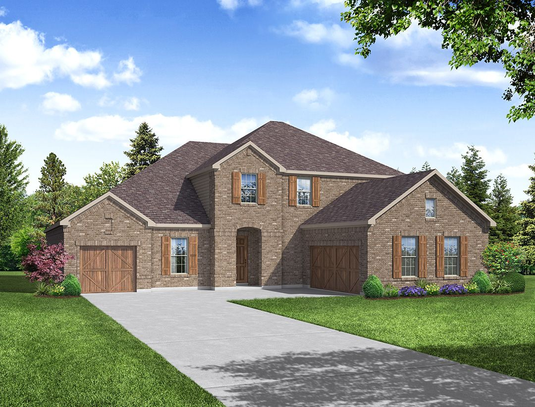 Sutton Floor Plan:Sutton - Elevation A