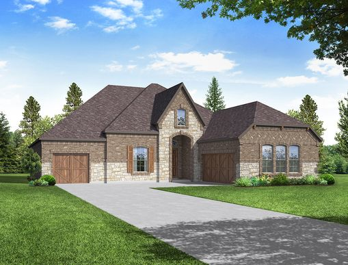 Chandler Floor Plan:Chandler - Elevation D