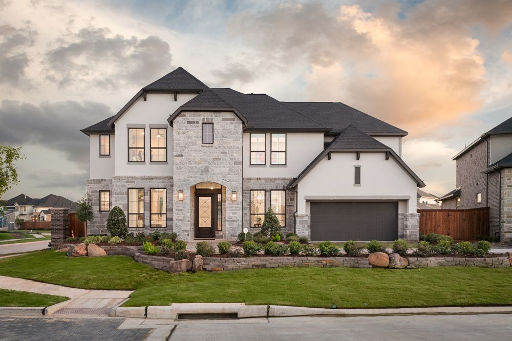 Grayson Woods 70 Model | Bogata:Representative Only | Bogata Model Home | Elevation S