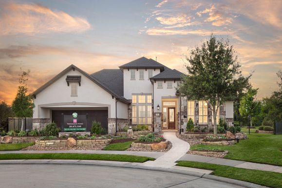 Harvest Green | Malone T:Representative Only | Malone Model Home | Elevation T
