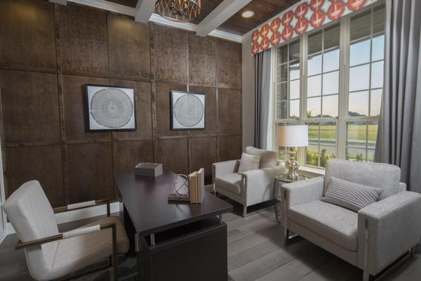 GRZ IMPORT IMAGE:Parks at Legacy   Scarlett Model Home   Study