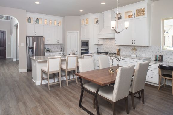 GRZ IMPORT IMAGE:Lakes of River Trails Model Home | Summer Floor Plan | Kitchen