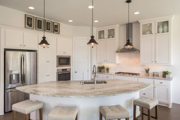 HMayfieldRanch603F 13:Highlands at Mayfield Ranch 60' Model Home | Plan: Stassney | Kitchen