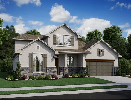 607F-T-elev web:Highlands at Mayfield Ranch 60' | Enfield, Elevation T