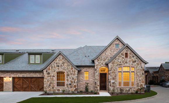 TM McKinneyModelTH 1010:Quinlan Model Home | Front Exterior