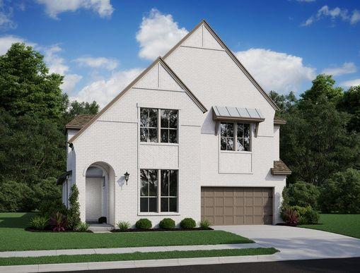Boxwood | Elevation D:Boxwood | Elevation D (Painted Brick)