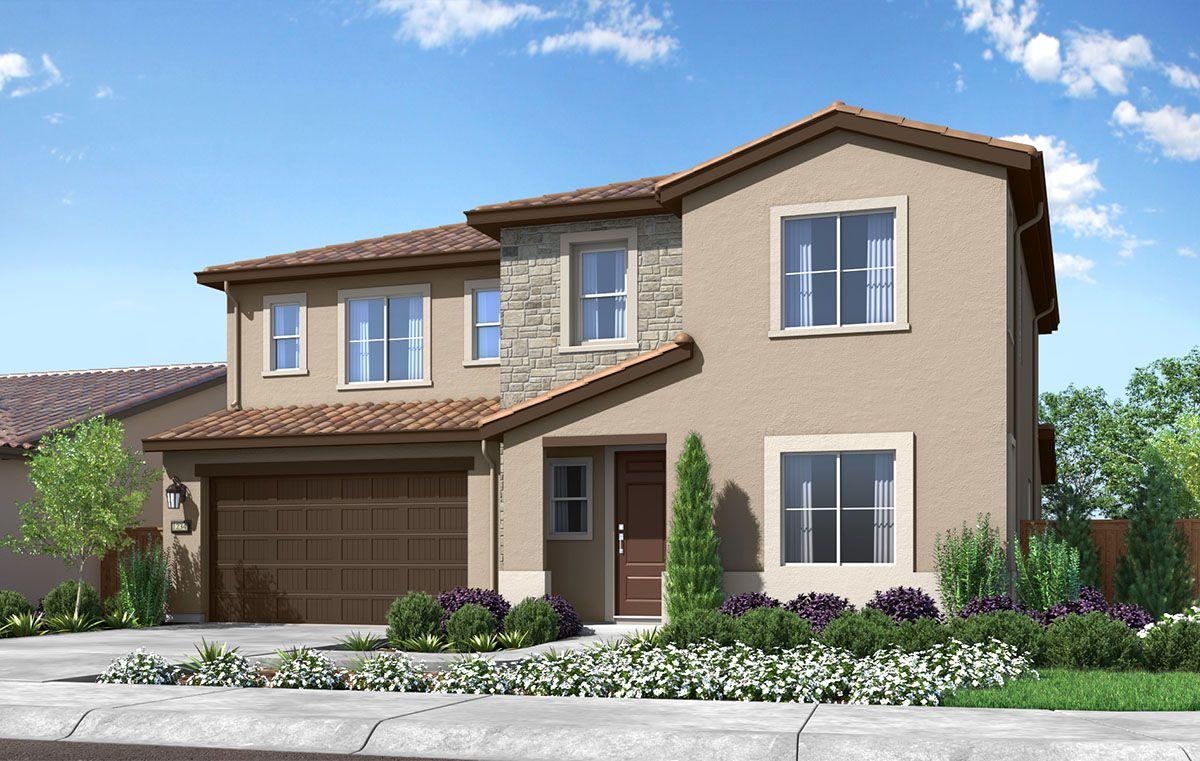 Exterior:Residence 4 Elevation: Rural Italian