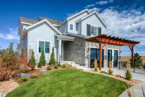 Exterior:Model Home - Residence 4025 | Elevation A