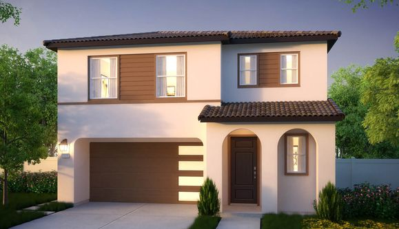 Residence 1AR | Contemporary Spanish exterior rendering