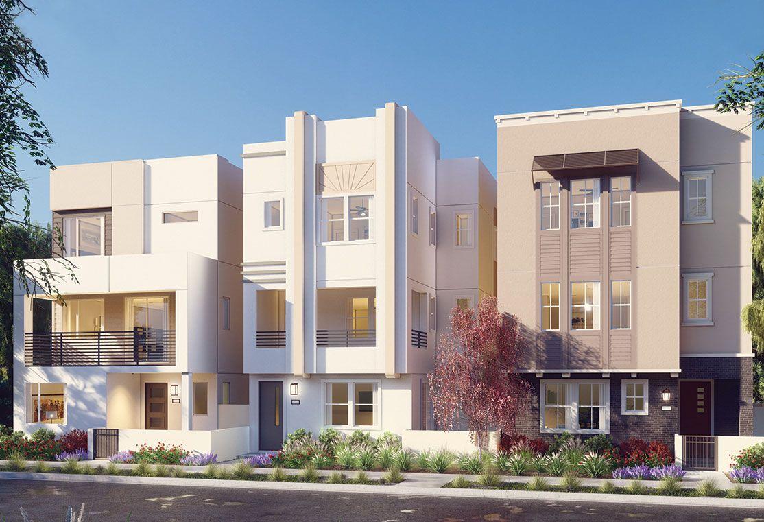 Exterior:Residence 1 - Art Deco Rendering