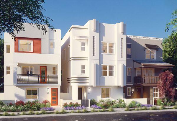 Exterior:Residence 2 - Art Deco Rendering