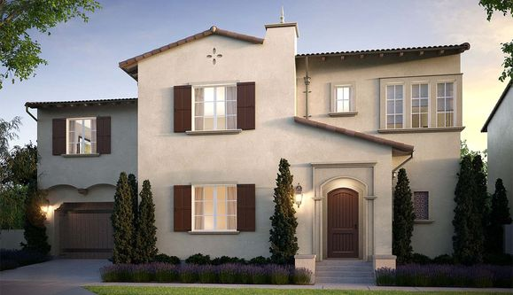 Exterior:Residence 1A - Rendering