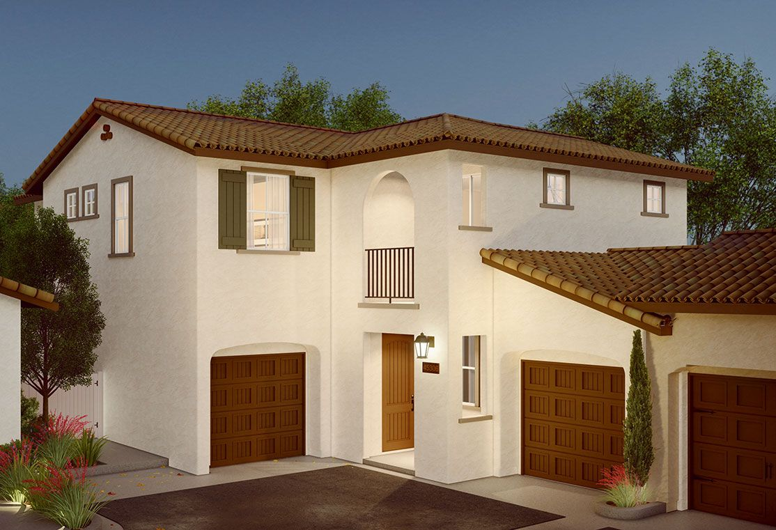 Exterior:Cassis Exterior Rendering | Spanish Colonial