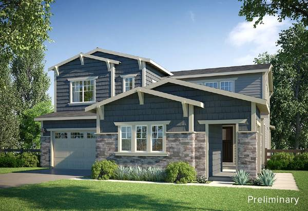 Exterior:PRELIMINARY | C - Craftsman Style Exterior