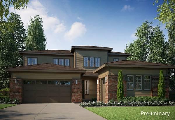 Exterior:PRELIMINARY | B - Modern Prairie Style Exterior