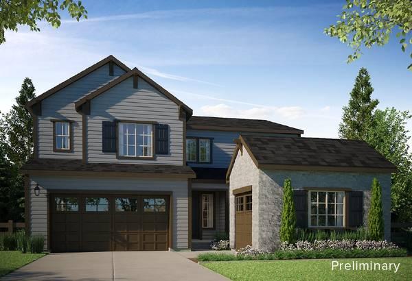 Exterior:PRELIMINARY | A - Colorado Ranch Style Exterior