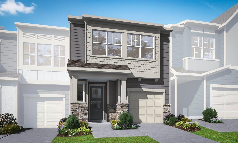 Exterior:Ashburn Plan 3 | Preliminary Rendering