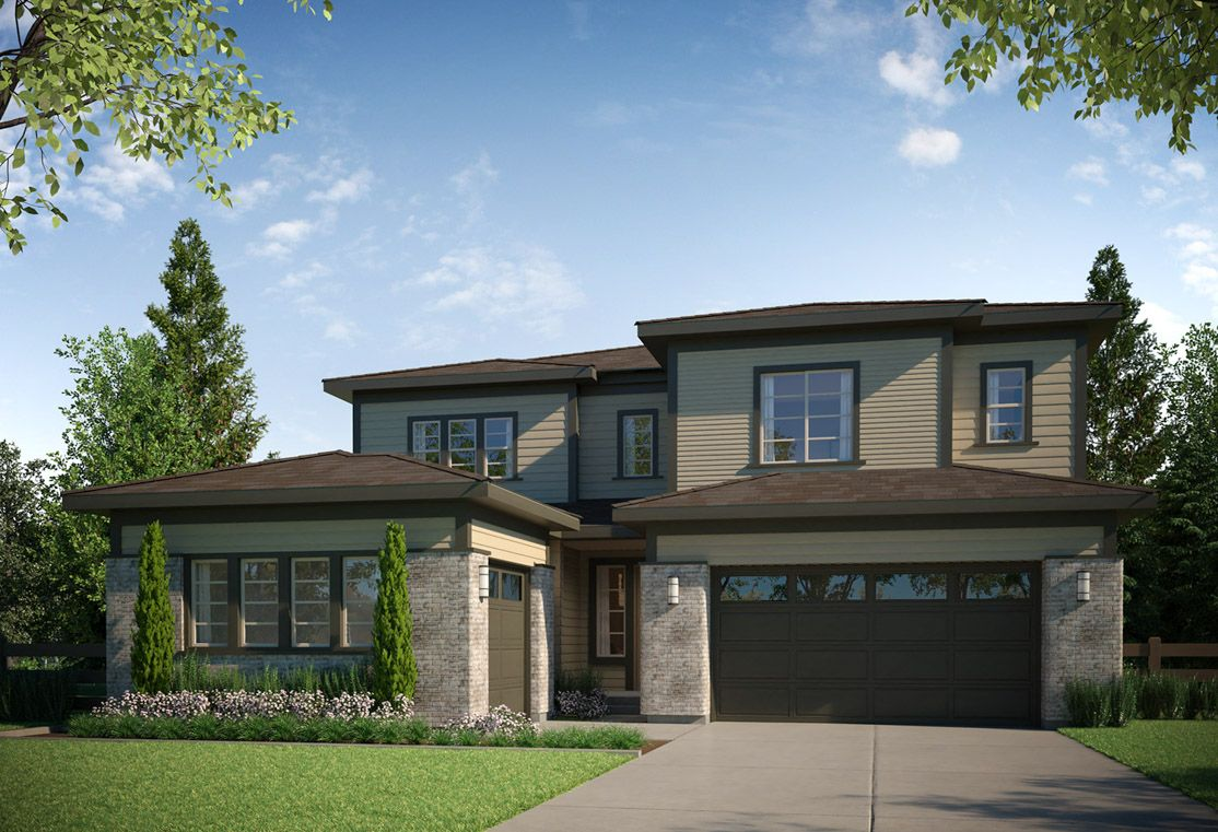 Residence 4505 | B - Modern Prairie Style Exterior