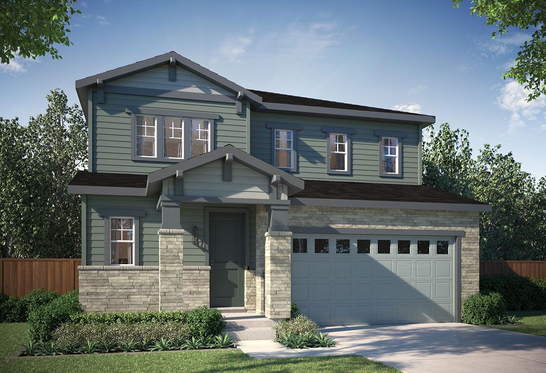 Exterior:Residence 3502 | Craftsman Style Exterior