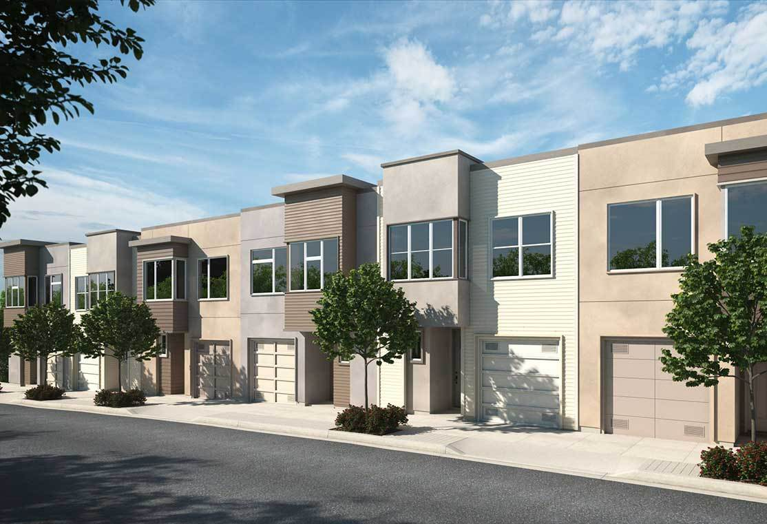 Exterior:Lofton at Portola - Cambridge Street - Rendering