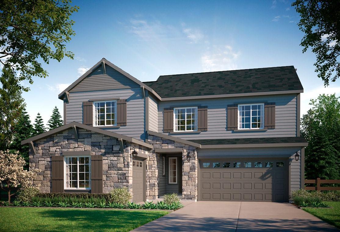Exterior:Residence 4503 | A - Colorado Ranch Style Exterior