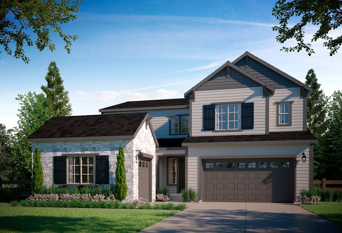 Residence 4505 | A - Colorado Ranch Style Exterior