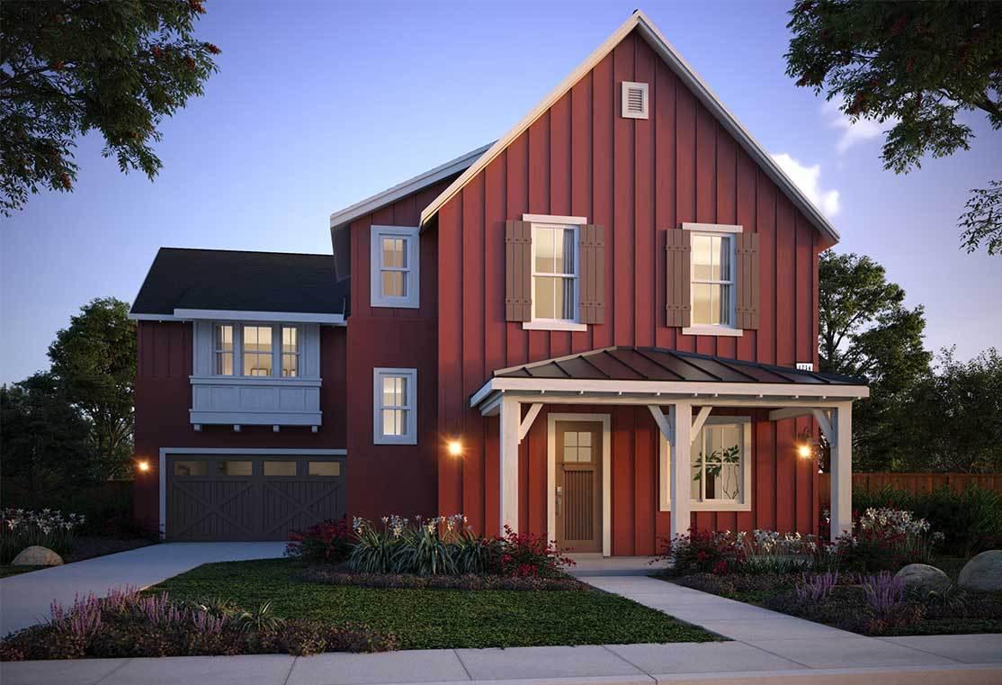 Exterior:Residence 7A - Farmhouse