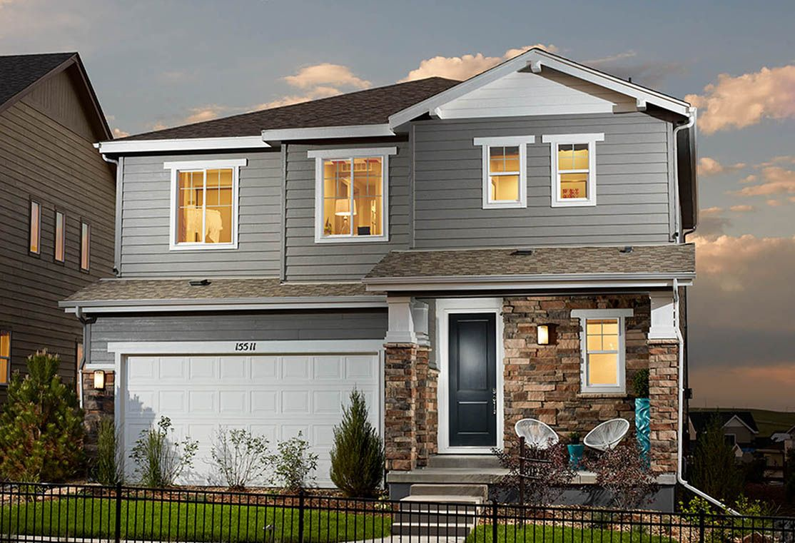 Exterior:Residence 3504 | Craftsman Style Exterior
