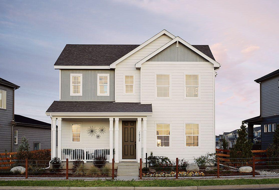 Exterior:Residence 3203 Model Home | Farmhouse Style Exterior