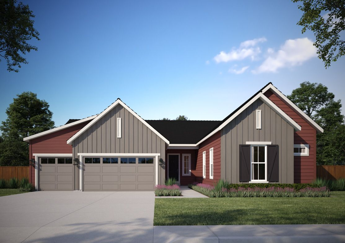 Plan5801-A:Modern Farmhouse