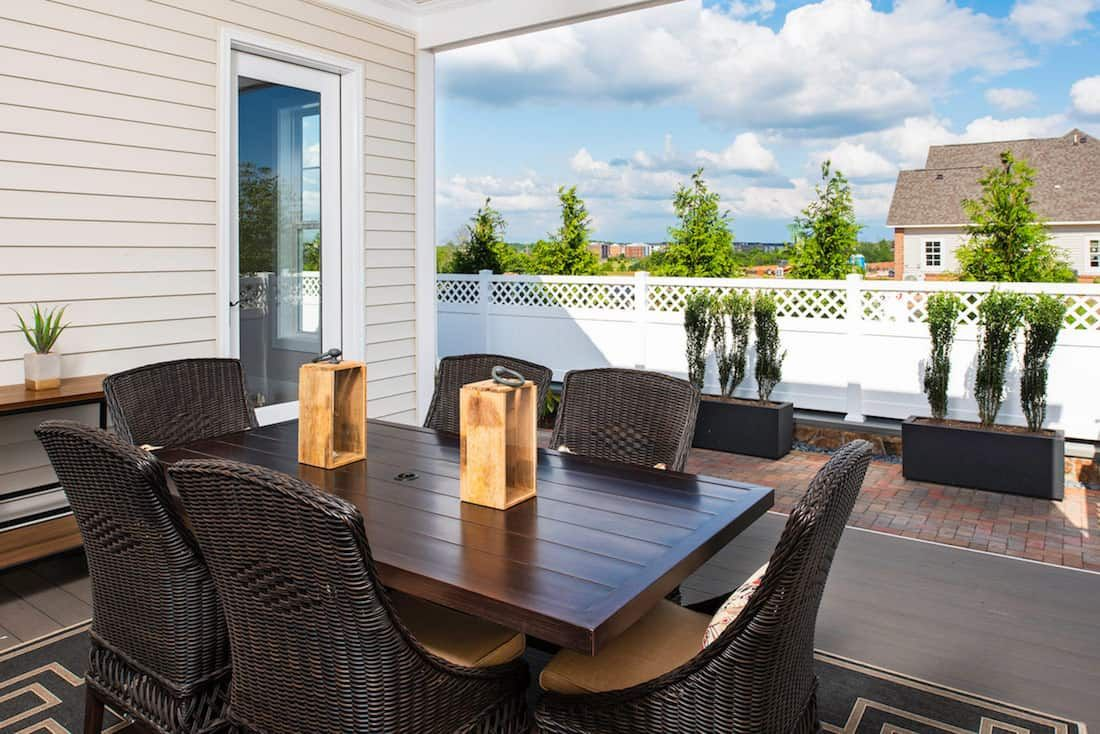 The Patuxent - Outdoor Living