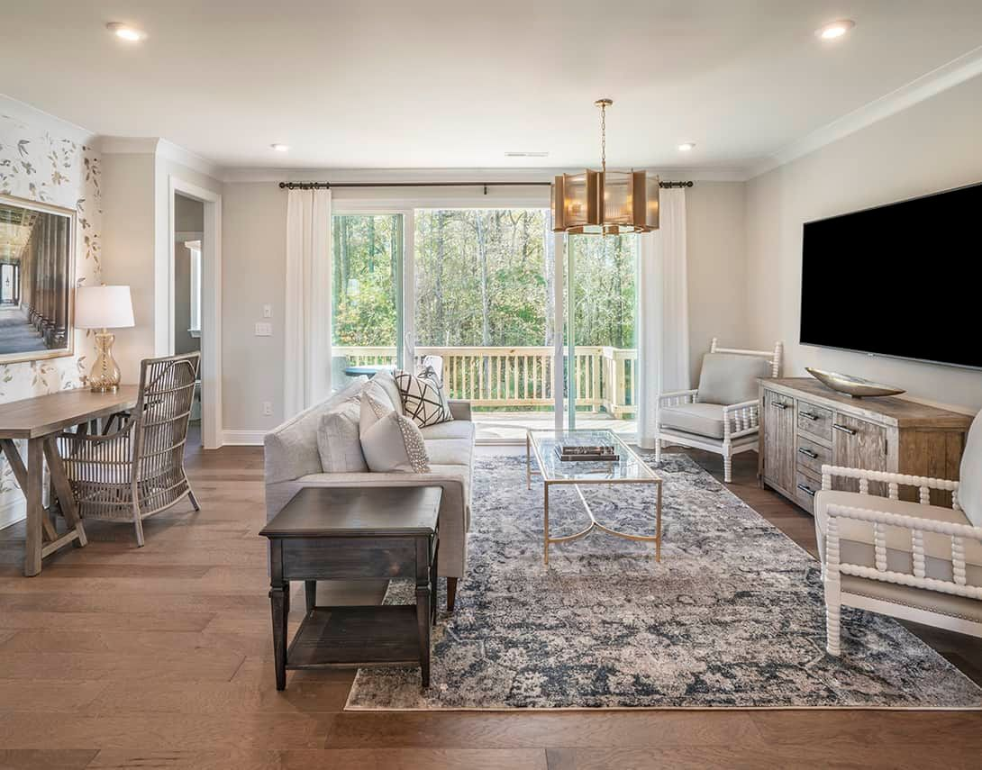 Townes at North Salem  | Residence 2 Model Home- Great Room