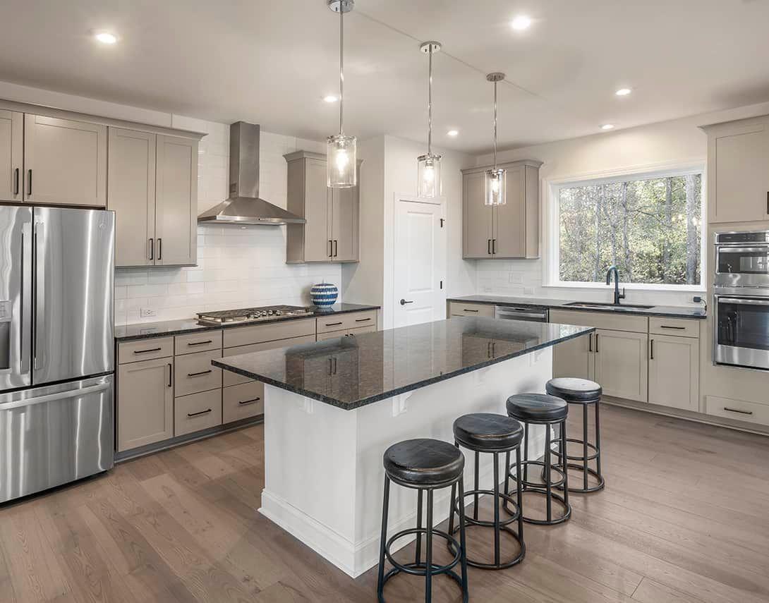 Townes at North Salem | Homesite 92 Residence 3 Ki:Townes at North Salem | Homesite 92 Residence 3 Kitchen