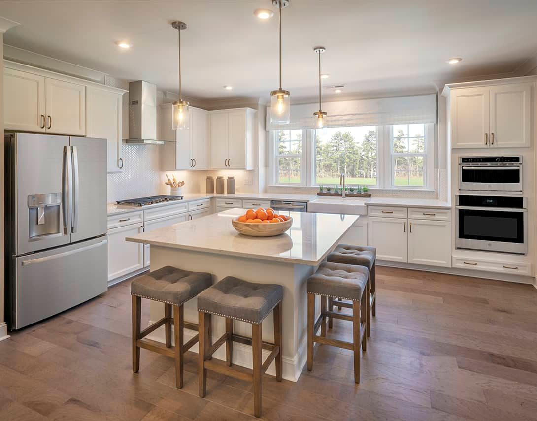 Interior:Townes at North Salem  | Residence 2 Model Home- Kitchen