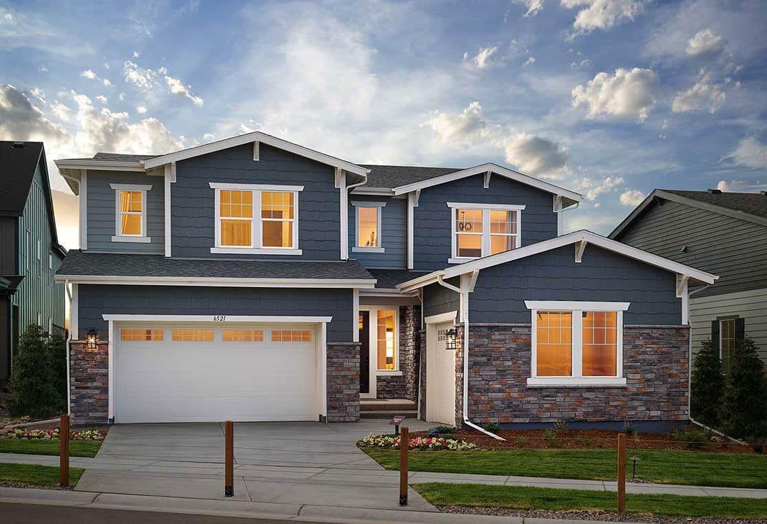 Plan 4505 Model Home | Craftsman