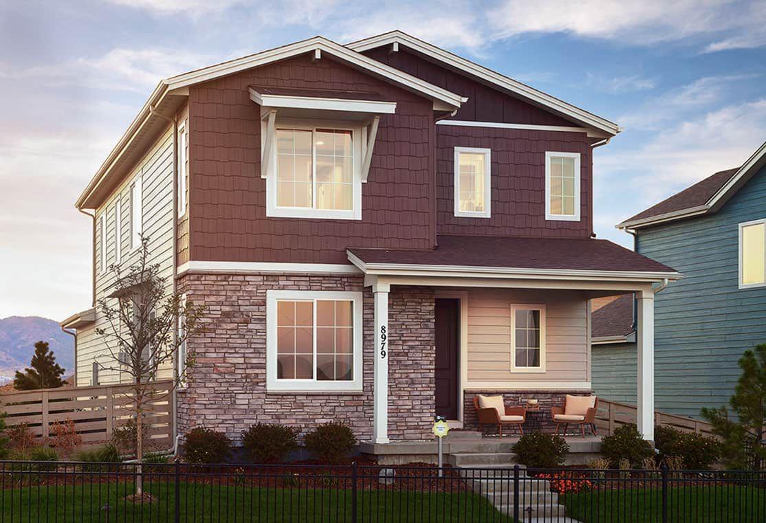 Plan 2805 Model Home | Colorado Cottage