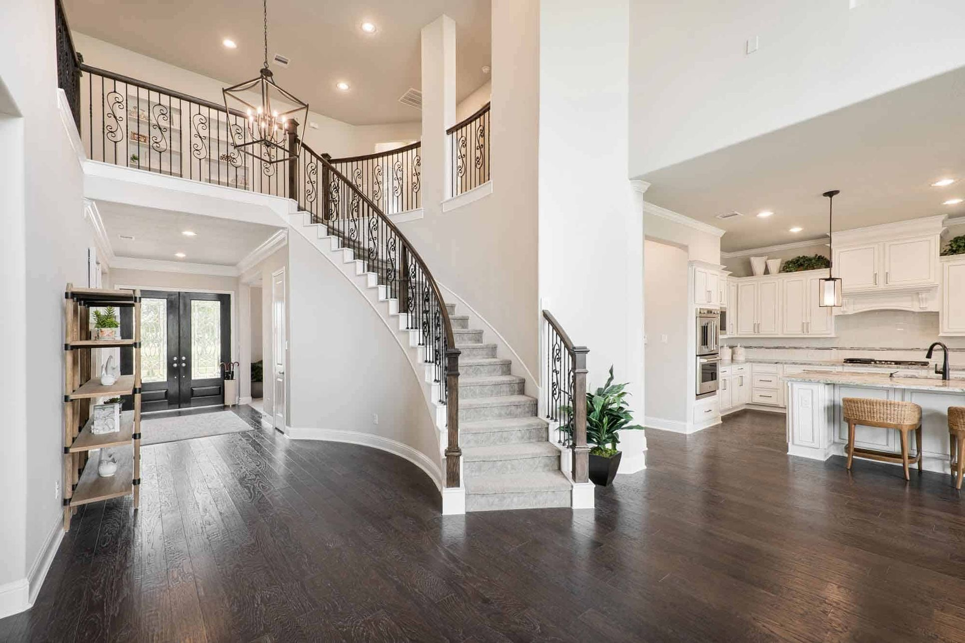 Representative Only | Lucca Model Home | Foyer