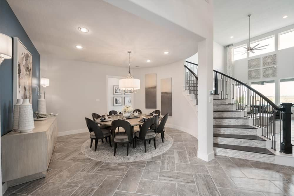 Representative Only   Verona Model Plan   Dining R:Representative Only   Verona Model Plan   Dining Room and Foyer