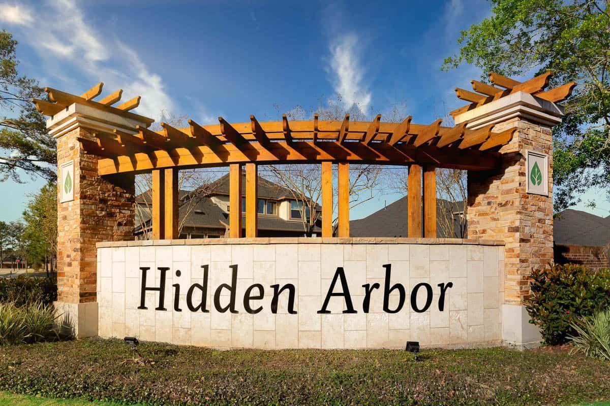 Hidden Arbor | Entry Monument