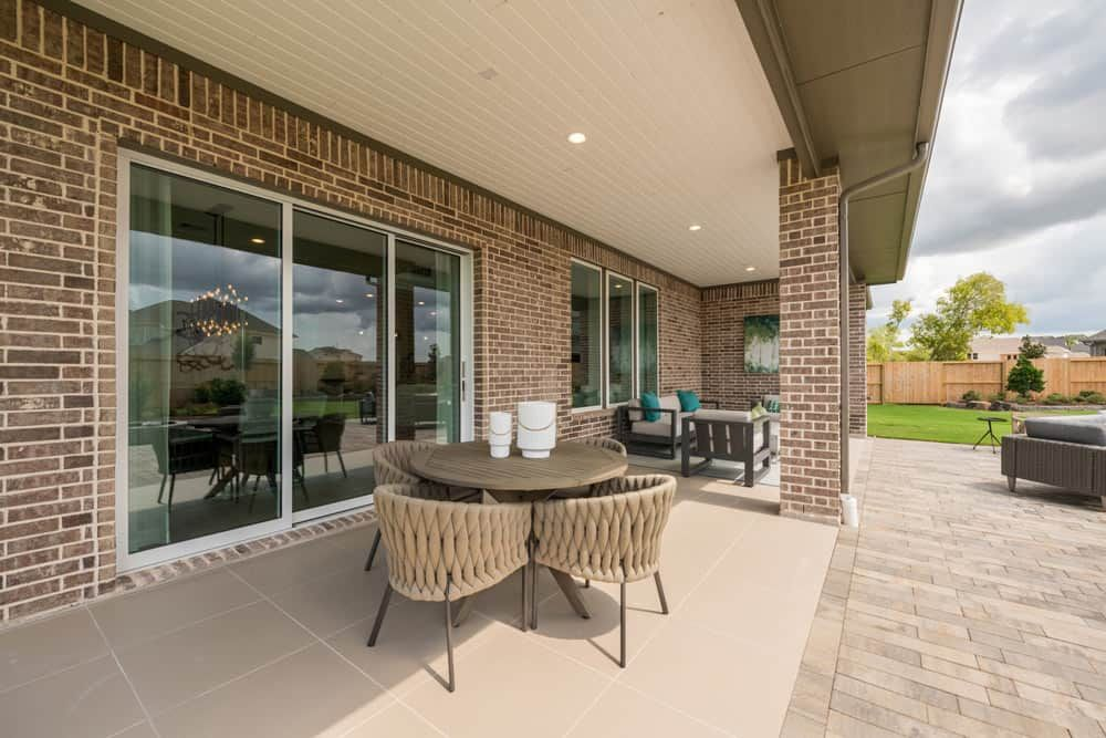 Representative Only | Windsor Plan | Covered Patio