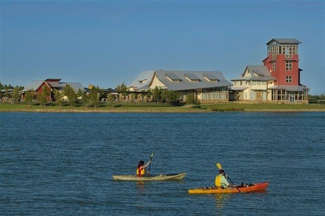 Cross Creek Ranch Amenities - Lake and Welcome Cen:Cross Creek Ranch Amenities - Lake and Welcome Center