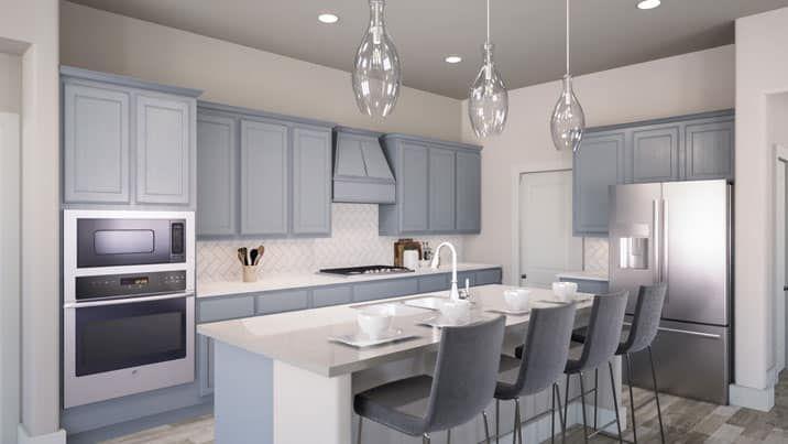 Luxury Kitchen:Jensen Floor Plan