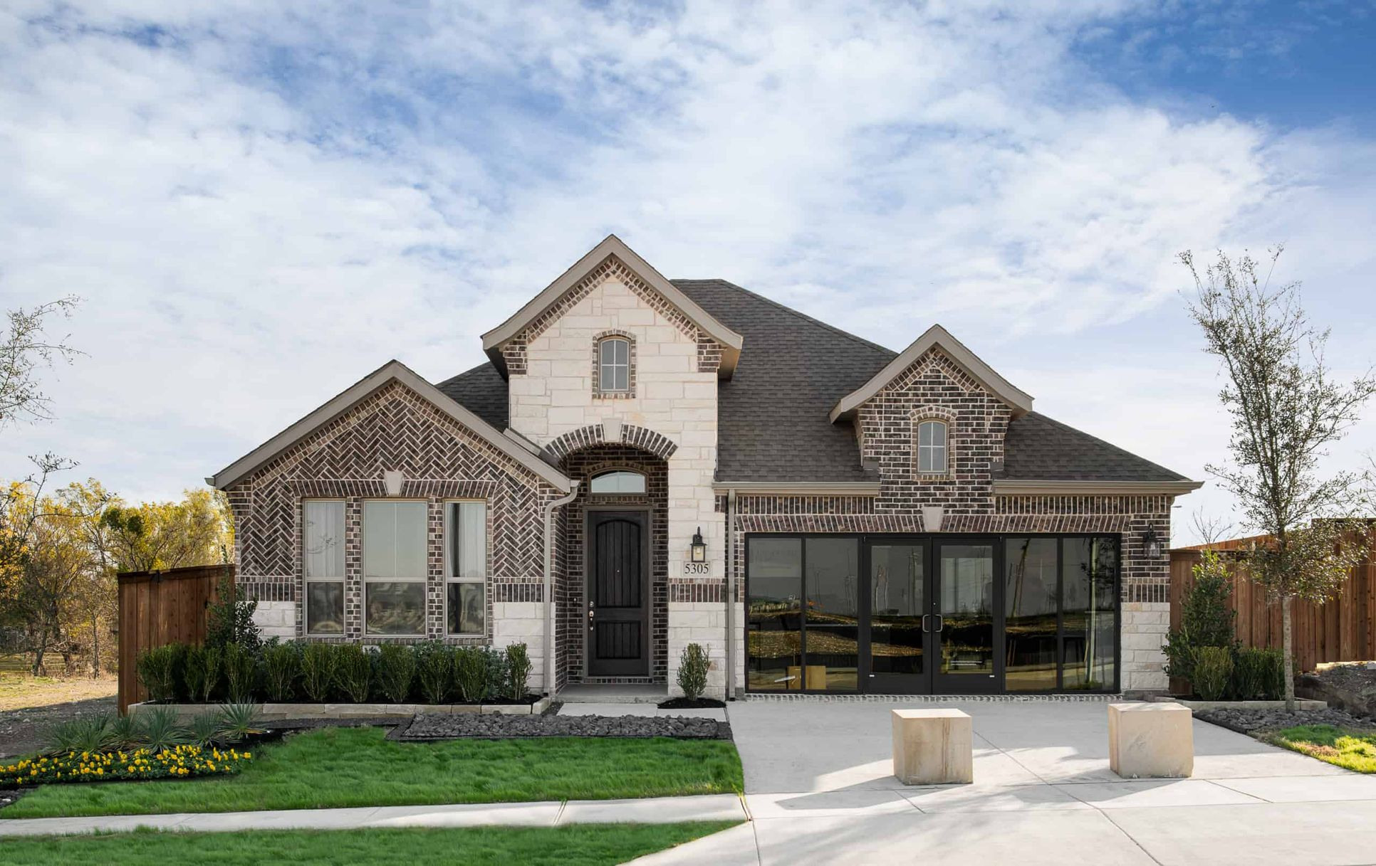Front Exterior:Mila Model Home