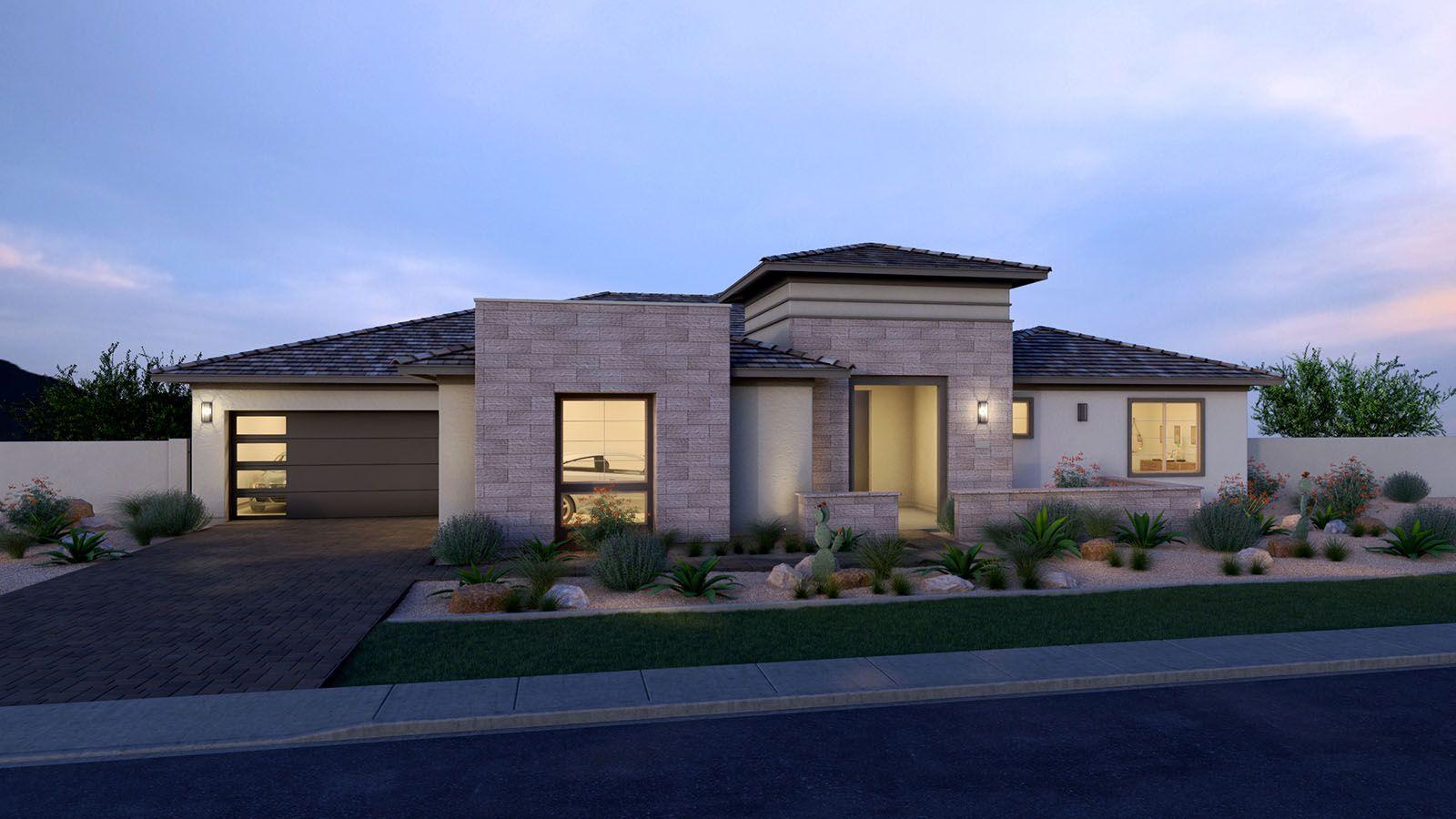 MH-residence-Domaine-Waterston-Residence-2-D-DUSK-:Desert Elevation
