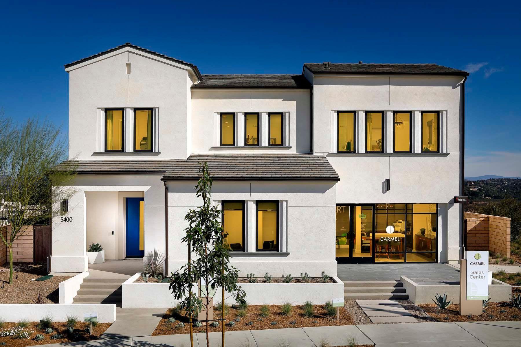 Carmel - Plan 1 - Front Exterior