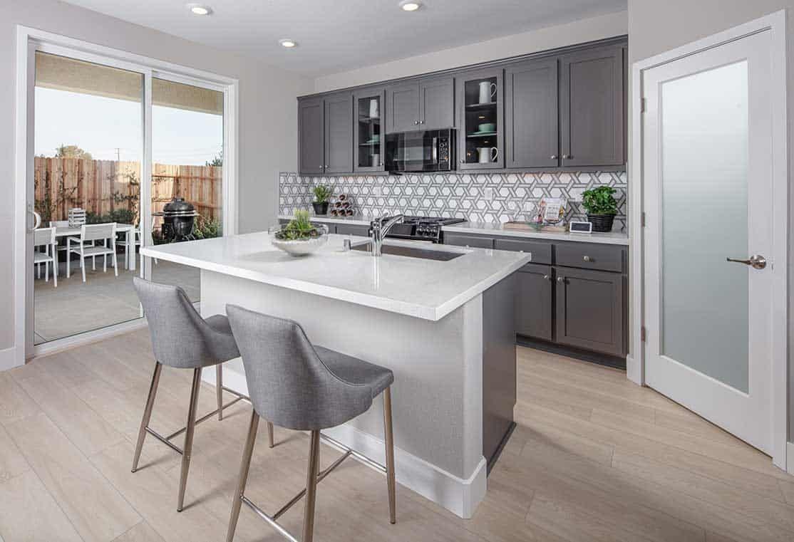 Interior:Plan 1 Kitchen