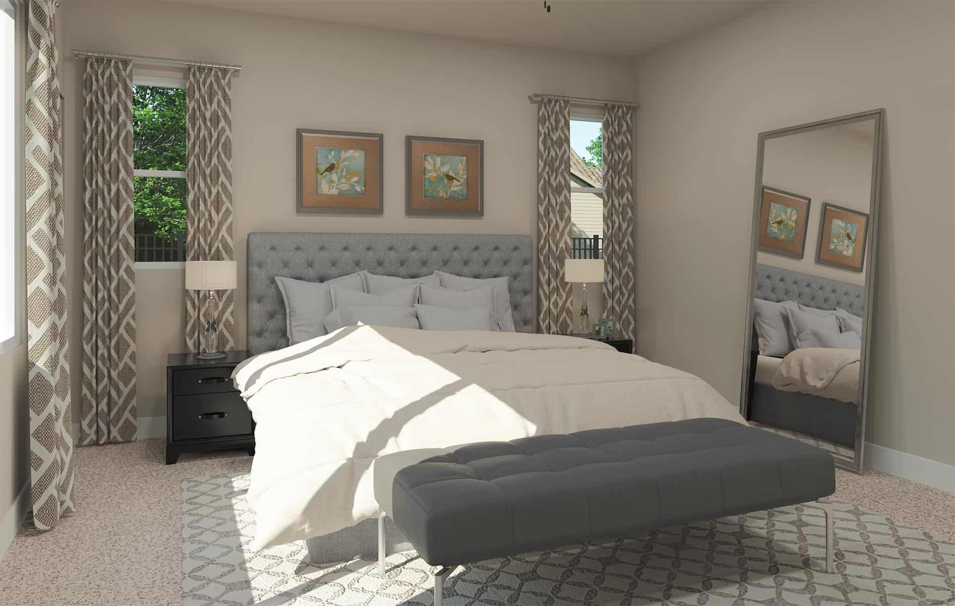 Residence 1: Primary Bedroom